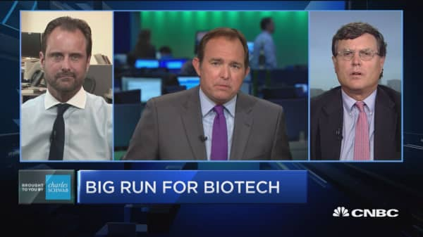 Trading Nation: Big run for biotech