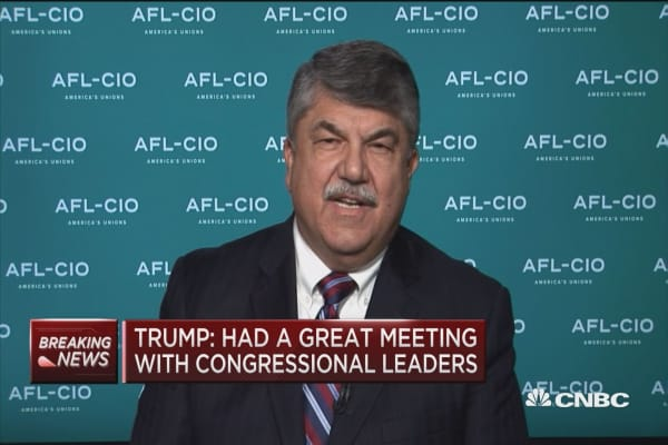AFL-CIO President Richard Trumka: The manufacturing council was wasted, useless