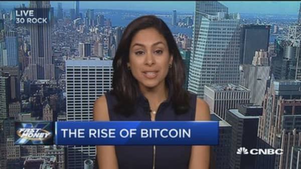 Behind Bitcoin's meteoric rise