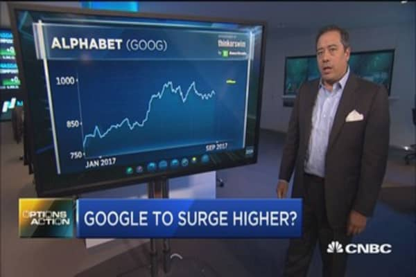 Here's how one trader is betting big on Google