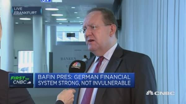BaFin President: We can step in, in case real bubble emerges