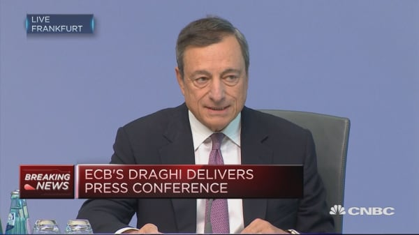 Recent volatility in FX rate is a source of uncertainty: Draghi