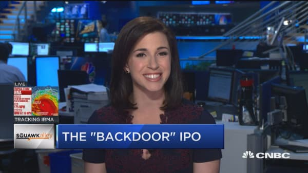 Chamath Palihapitiya and the 'backdoor' IPO