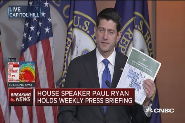 Paul Ryan: Tax reform is our number one priority this fall