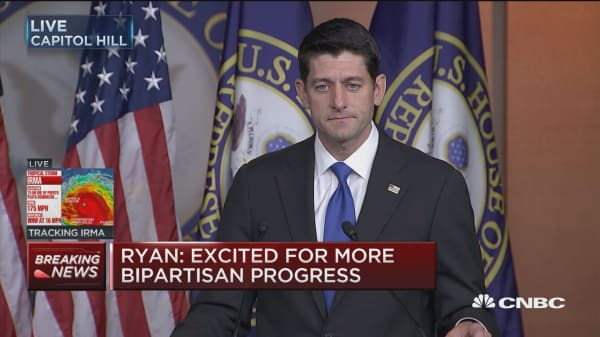 Paul Ryan: Excited for more bipartisan progress