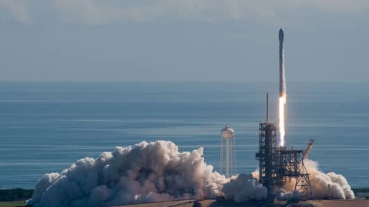 SpaceX's launch of the Air Force's X-37B space vehicle.