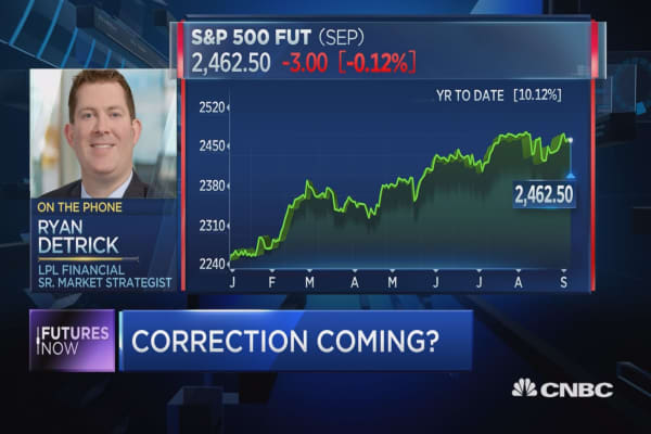 Striking stat could point to market correction