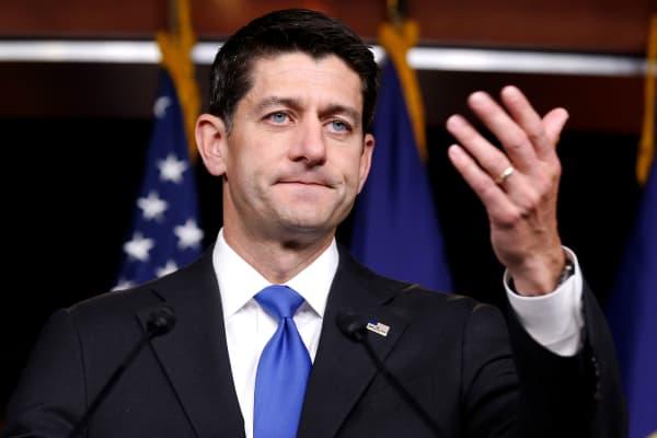 Speaker of the House Paul Ryan (R-WI)