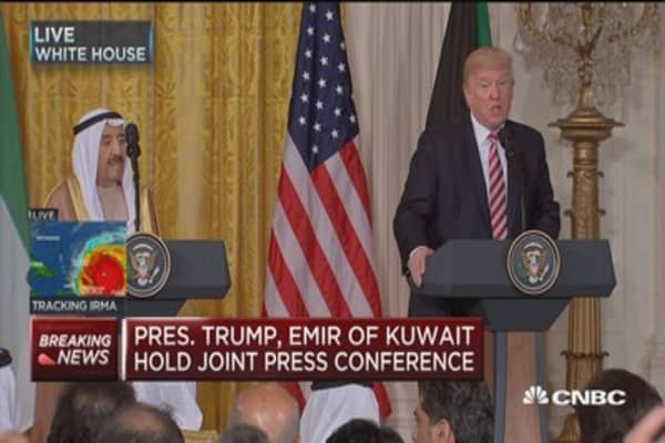 Trump: We thank Kuwait for partnership in fight to destroy ISIS