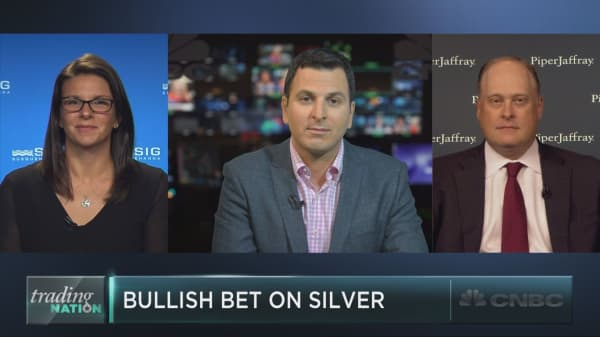 A million-dollar bet on silver
