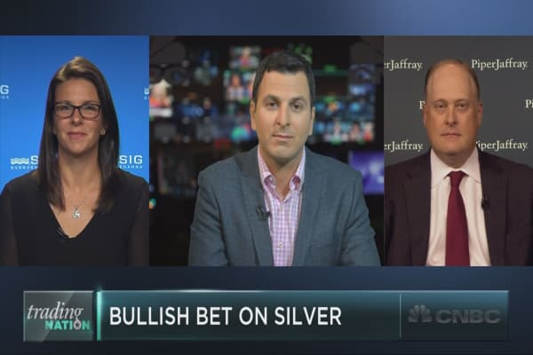 A million-dollar bet on silver