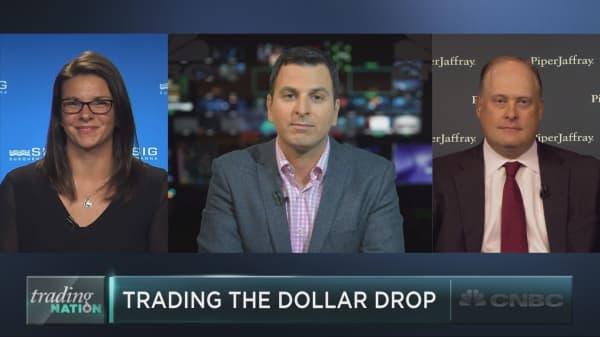 The incredible falling dollar