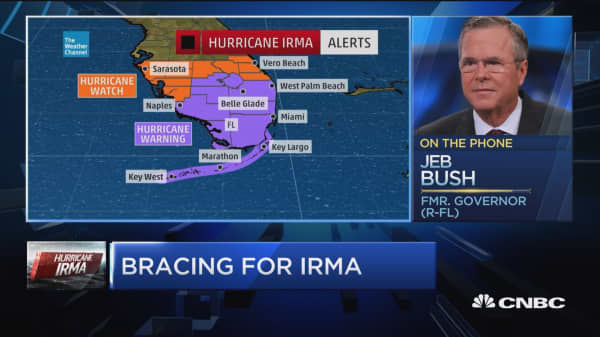 Gov. Jeb Bush: Bracing for Irma's aftermath