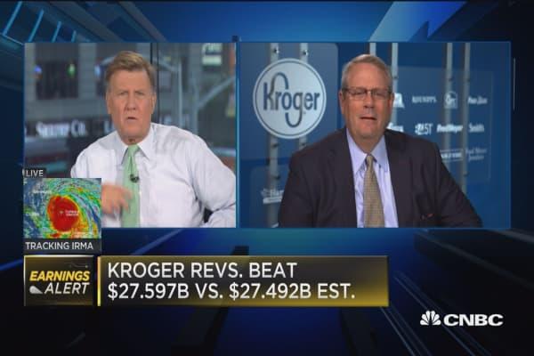Kroger CFO: Better off giving annual guidance