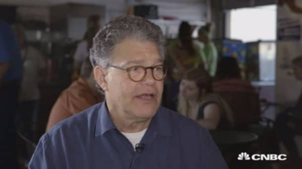 Al Franken: Donald Trump refuses to work on anything that matters