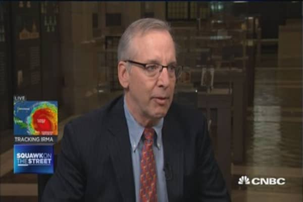 NY Fed's Dudley: Hurricanes will make it hard to read economic data over next few months
