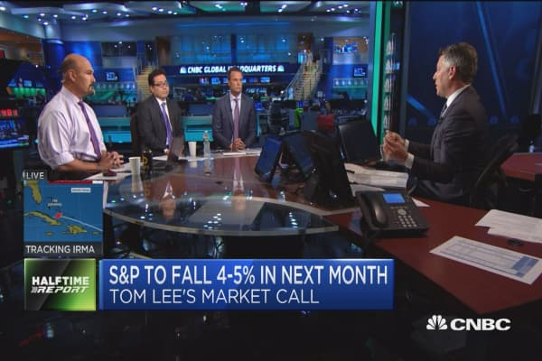 Setbacks in D.C. might affect earnings ability through tax reform: Fundstrat's Tom Lee