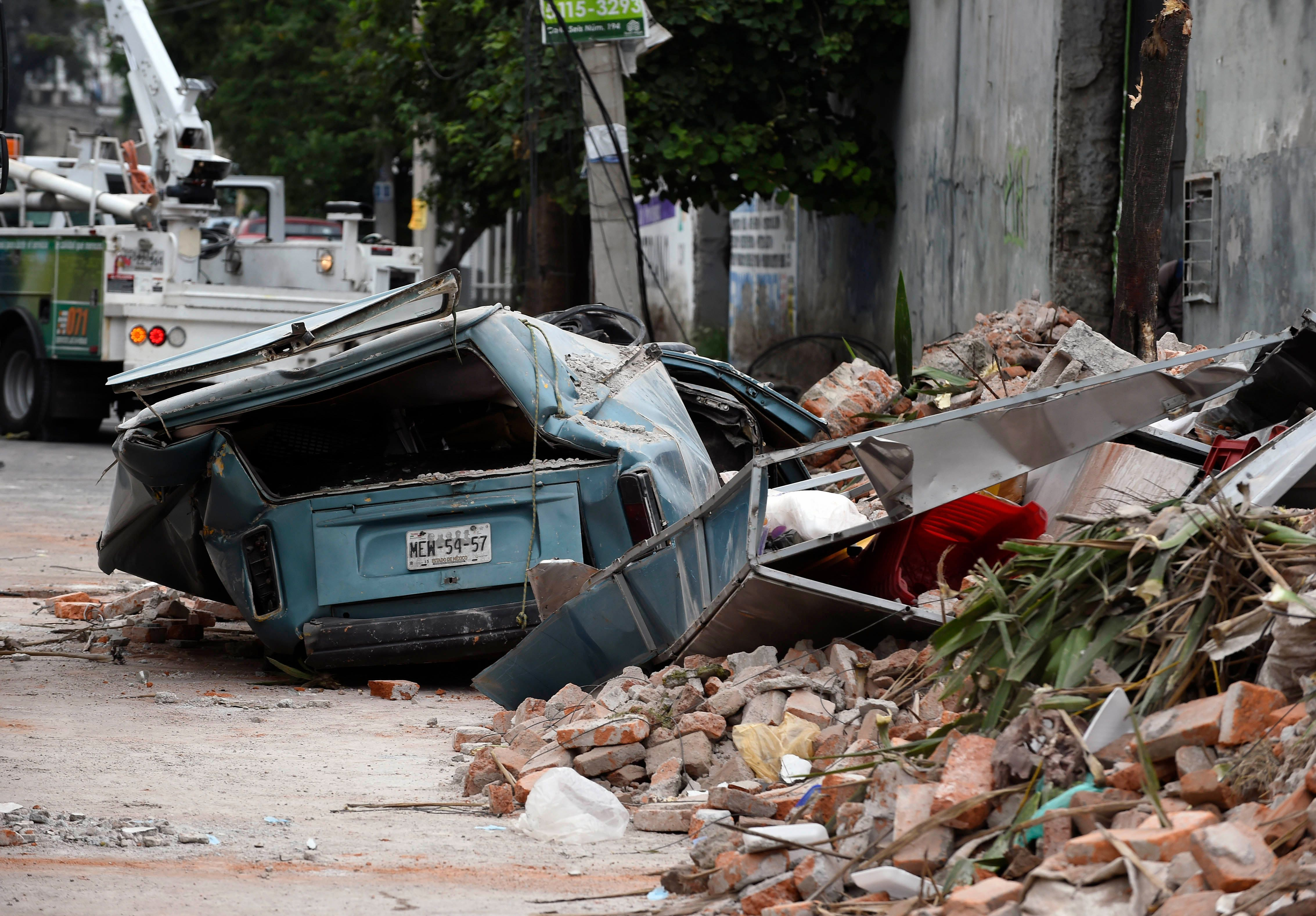 Mexico has suffered from a powerful earthquake 18