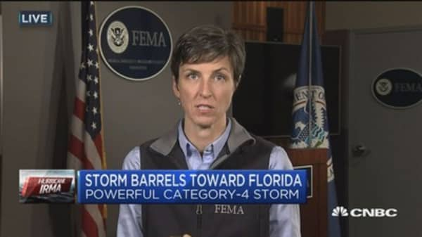FEMA readies for Hurricane Irma