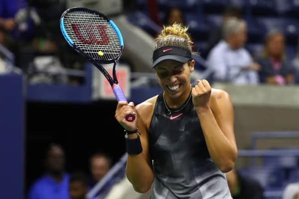 Madison Keys will compete for the US Open title on Saturday
