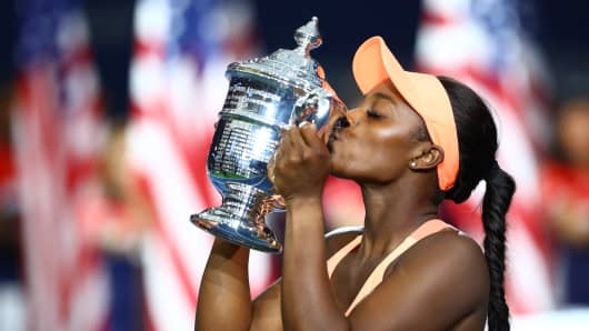 Sloane Stephens Wins US Open In Dominant Fashion