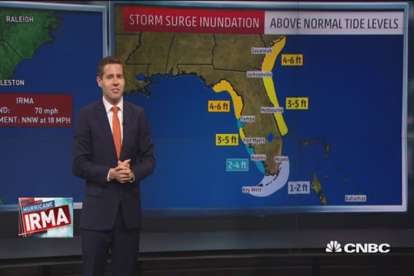 Irma downgraded to tropical storm but still dangerous