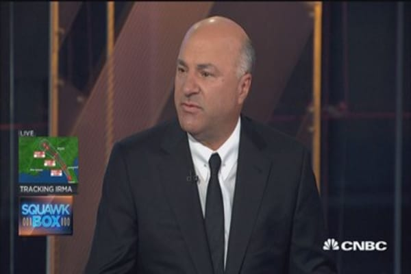 Kevin O'Leary: I'm having a hard time taking money out of stocks