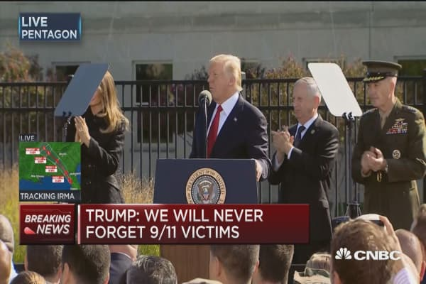 Pres. Trump: America cannot be intimidated