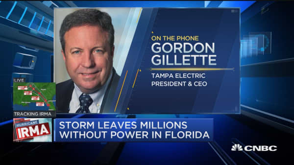 Tampa Electric CEO: 45% of our customers are without power