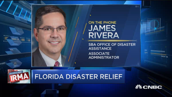 SBA on Irma's impact on small business