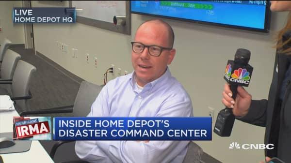 Inside Home Depot's disaster command center