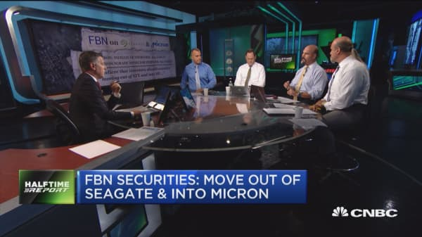 FBN Securities: rotate out of Seagate & into Micron