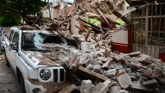 Mexico Rushes Aid To Millions Of Quake Victims; 96 Dead