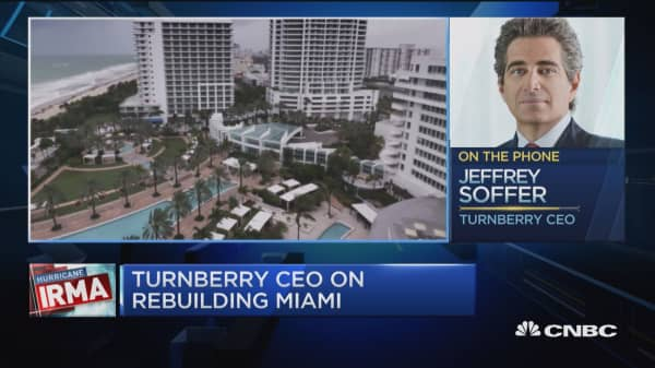Turnberry CEO: Hurricanes ultimately won't affect property prices