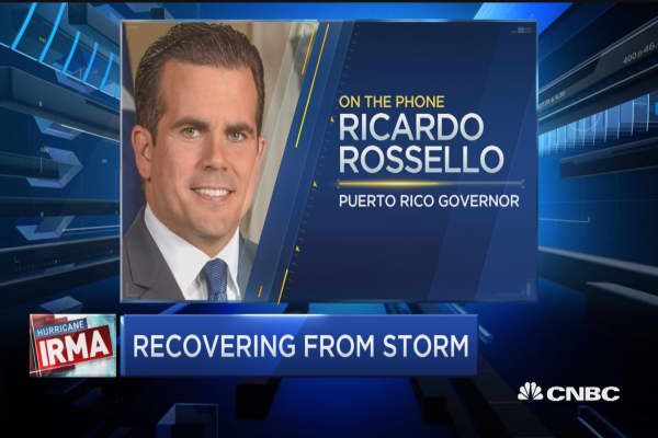 Gov. Rossello: More than 1 million customers without power after Irma