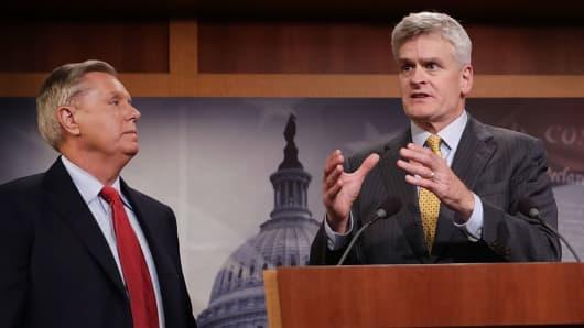 Sen. Lindsey Graham (R-SC) and Sen. Bill Cassidy (R-LA)