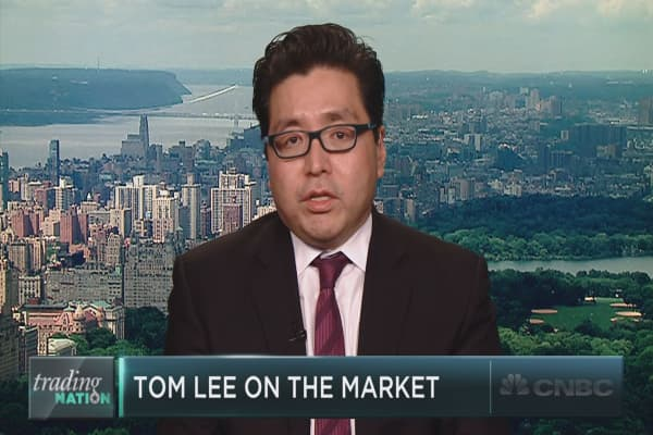 The full interview with Fundstrat's Tom Lee