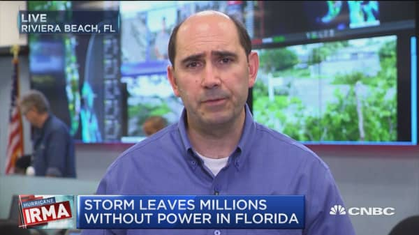 Irma leaves millions powerless in Florida