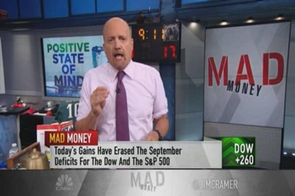 Cramer's 5 reasons behind the market's 'blind faith' in the bull