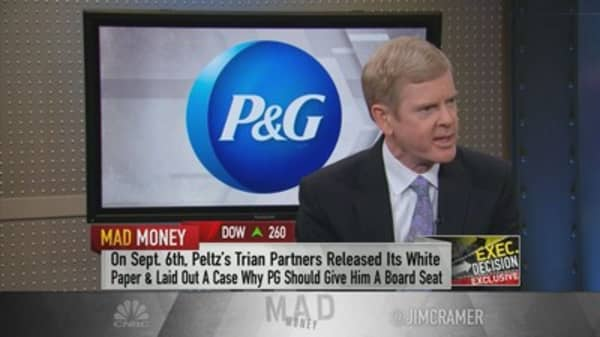 P&G CEO calls Nelson Peltz's proposals 'very dangerous' in short and long term