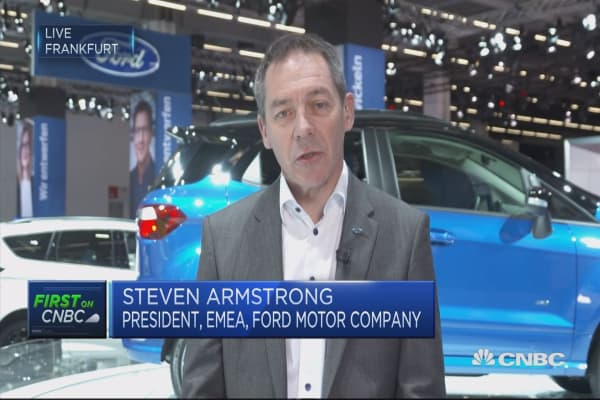 Ford EMEA President: We're investing in electric vehicles