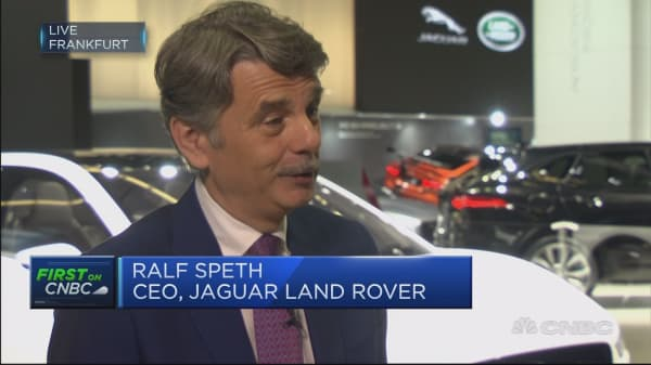 Jaguar Land Rover CEO: From 2020 all of our cars will have electric option