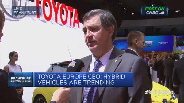 Toyota Europe CEO: Electric vehicle technology needs more development