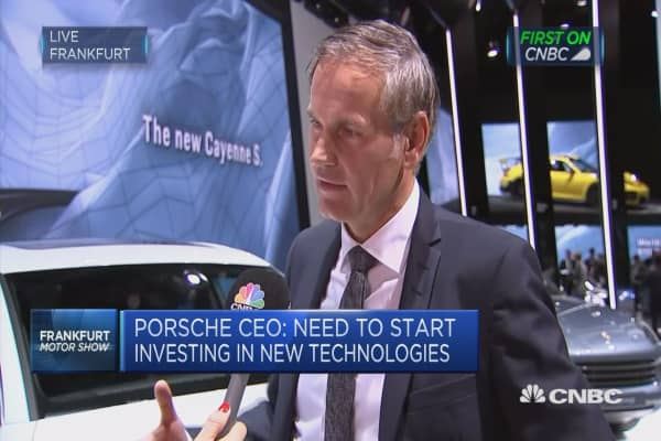 Need to start investing in new technologies: Porsche CEO