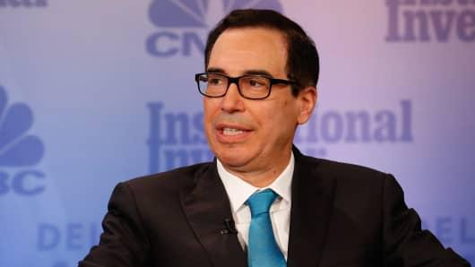 White House 'super focused' on tax reform, says Mnuchin