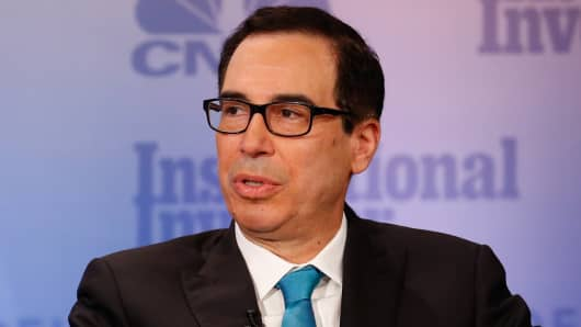 Steve Mnuchin signals higher taxes for hedge funds