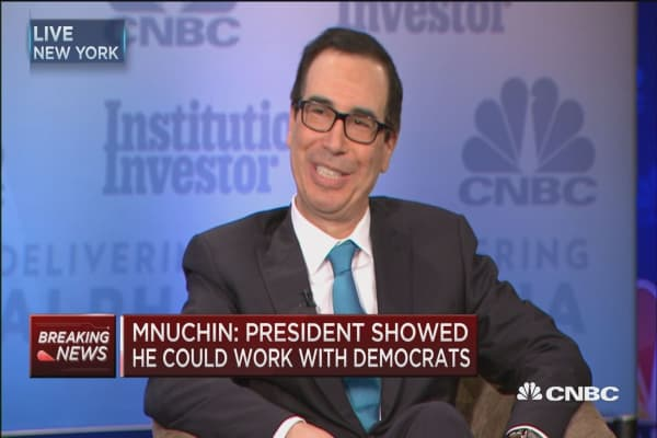 Treasury's Mnuchin: President Trump is 'absolutely a Republican'
