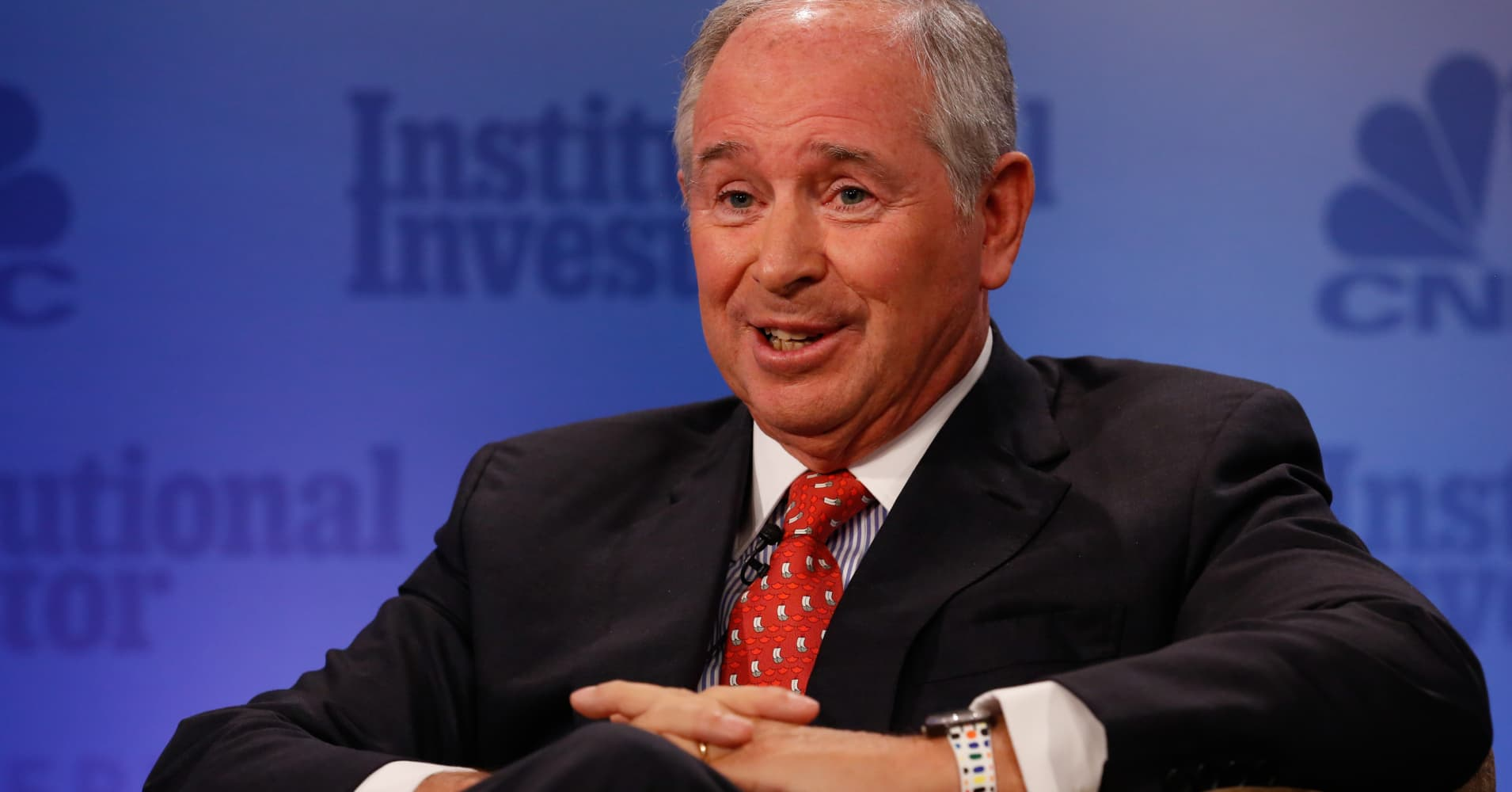 Blackstone's Schwarzman on tax reform: 'This is a whopper'