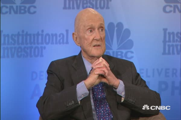 Tiger Management's Julian Robertson: Market is very high on a historic basis