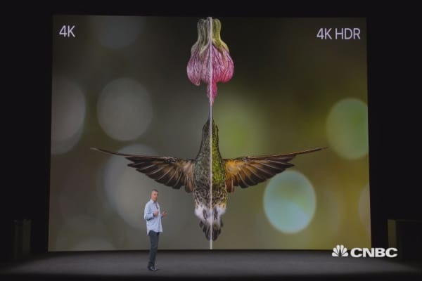 Apple unveils new 4K-enabled Apple TV boxes